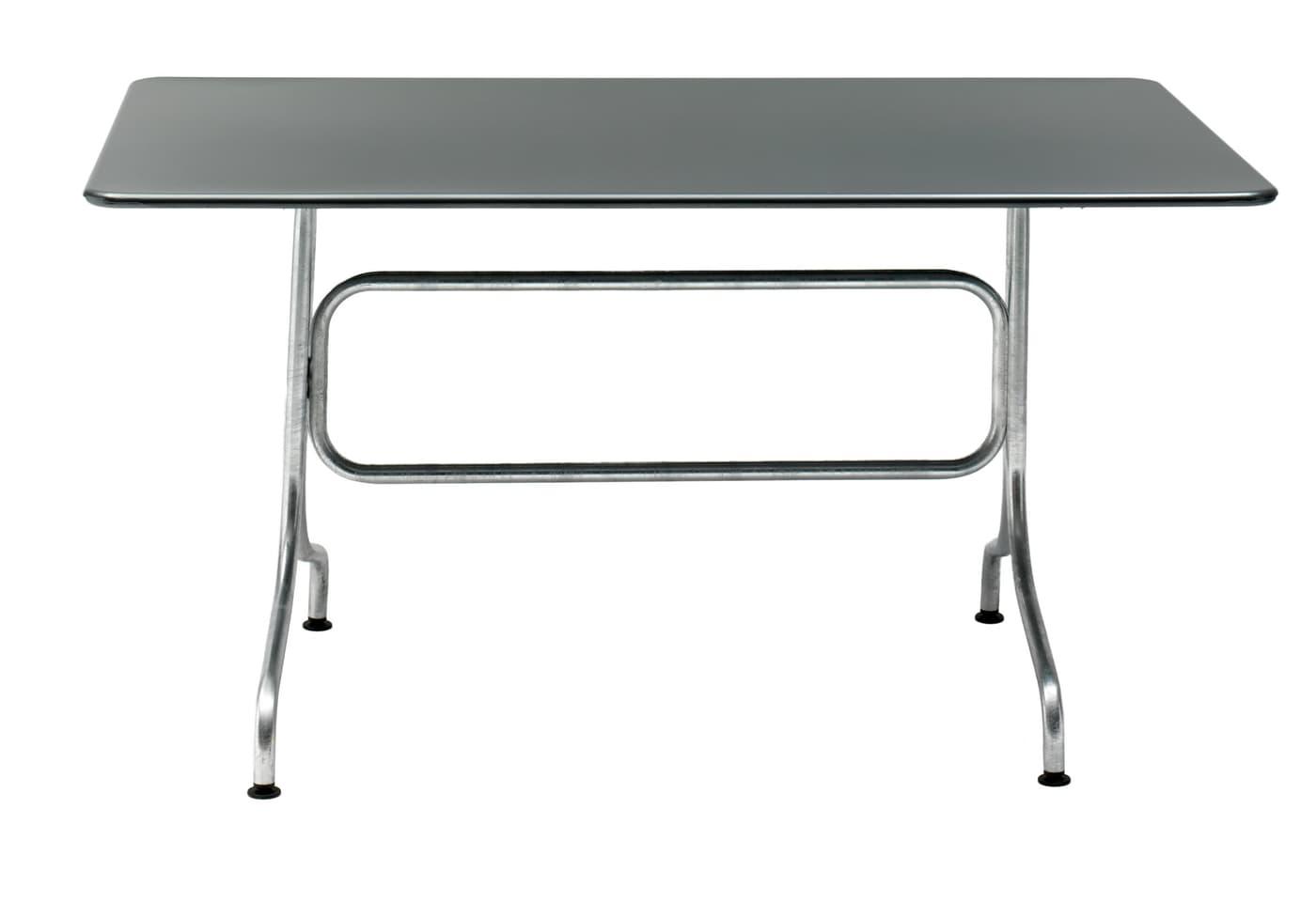 Schaffner Tisch BAHAMAS, anthrazit, 140 cm | Migros