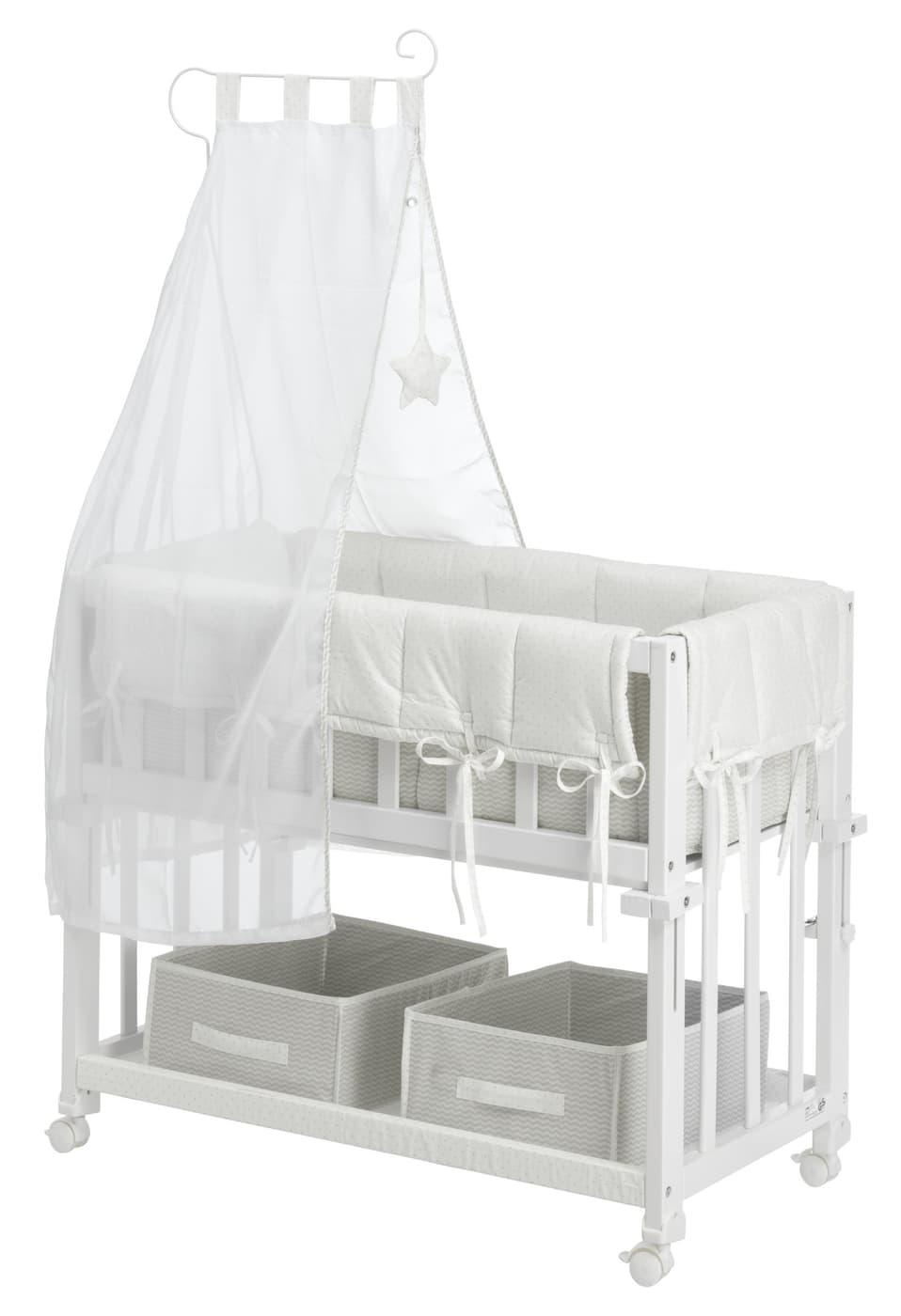 emilie babybett migros. Black Bedroom Furniture Sets. Home Design Ideas
