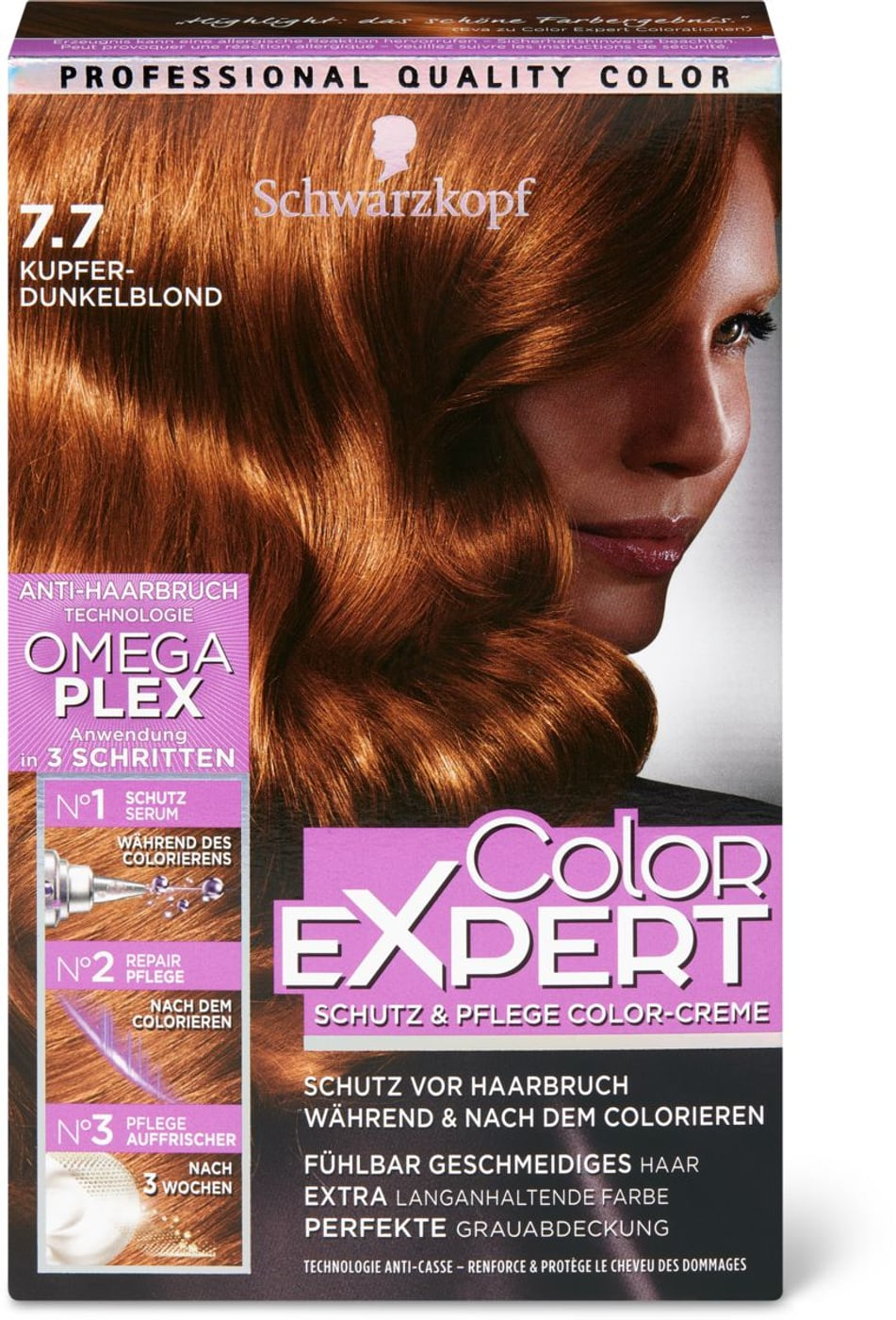 Schwarzkopf Color Expert 7.7 kupfer dunkelblond   Migros