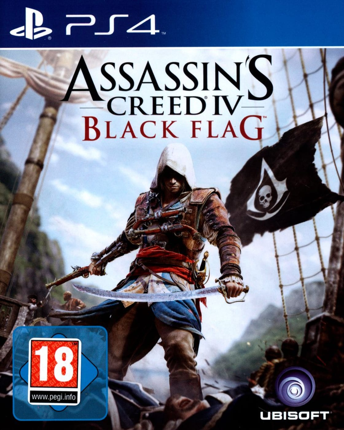 Ps4 Assassin S Creed Iv Black Flag Box Migros