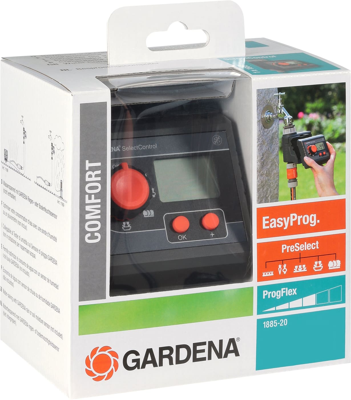 gardena bew sserungscomputer selectcontrol migros. Black Bedroom Furniture Sets. Home Design Ideas