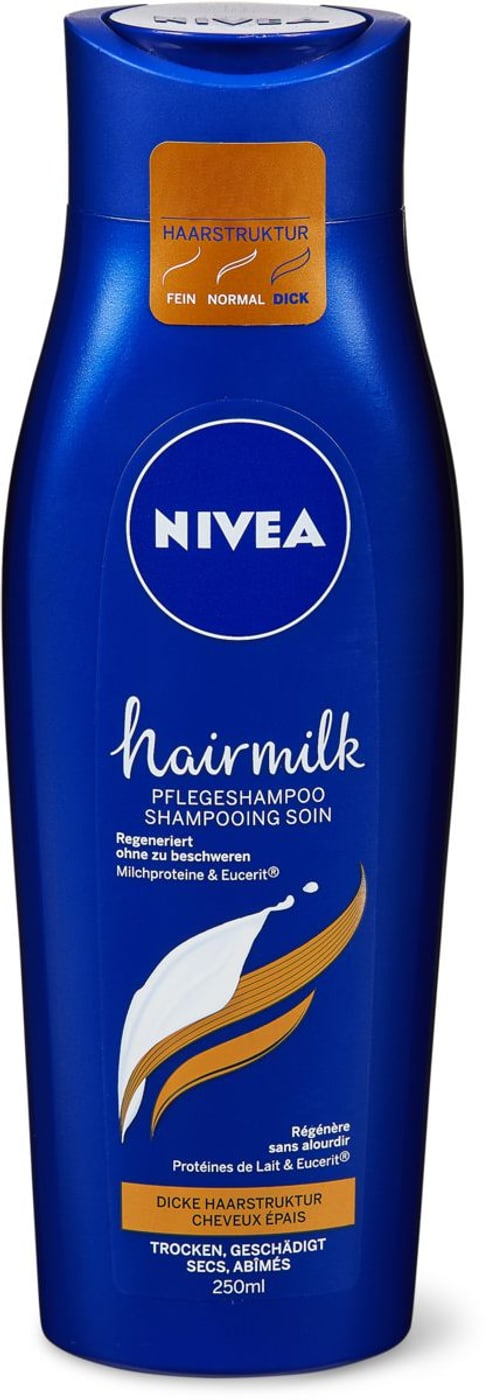 nivea hairmilk shampoo dickes haar migros. Black Bedroom Furniture Sets. Home Design Ideas
