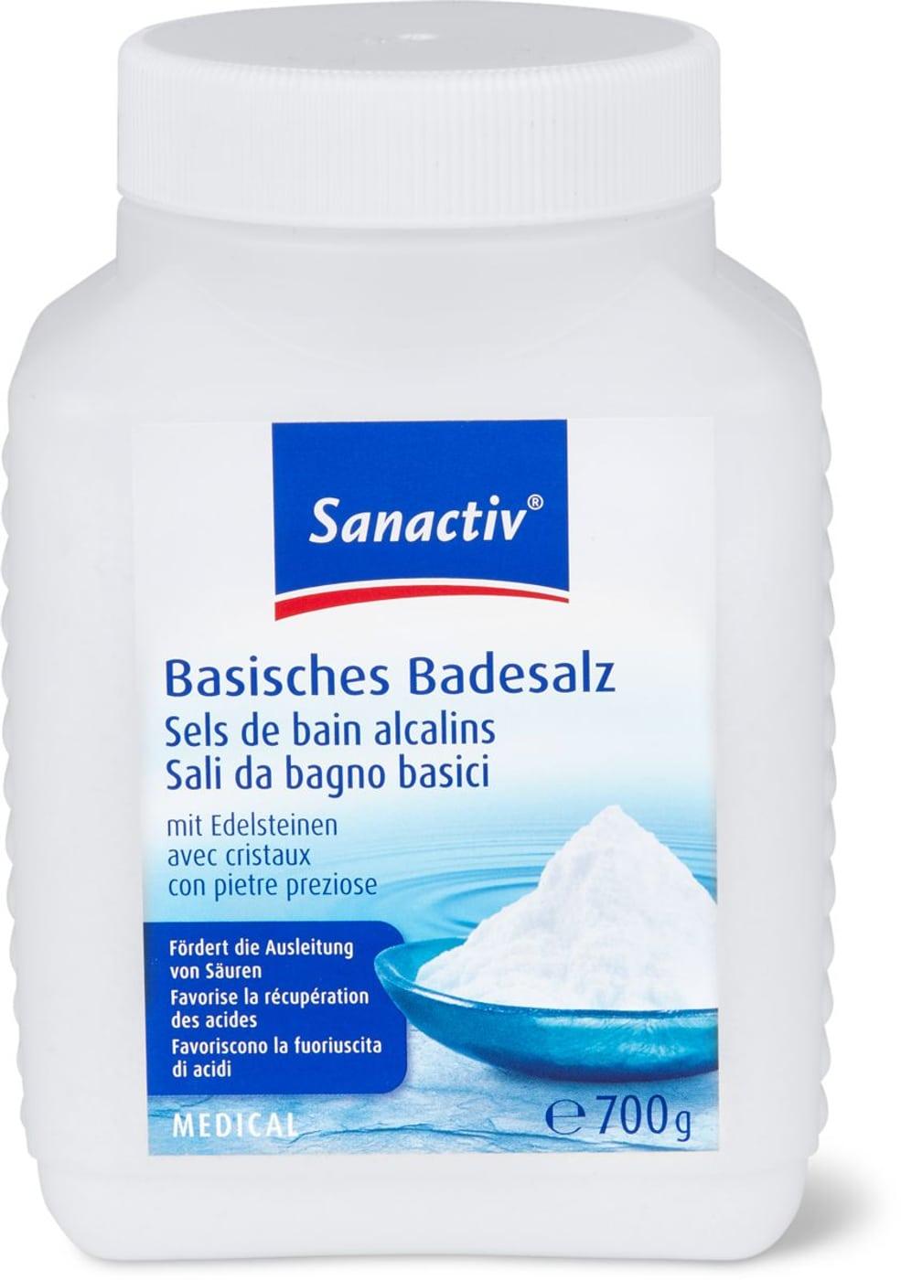 Sanactiv Basisches Badesalz Medizinprodukt | Migros