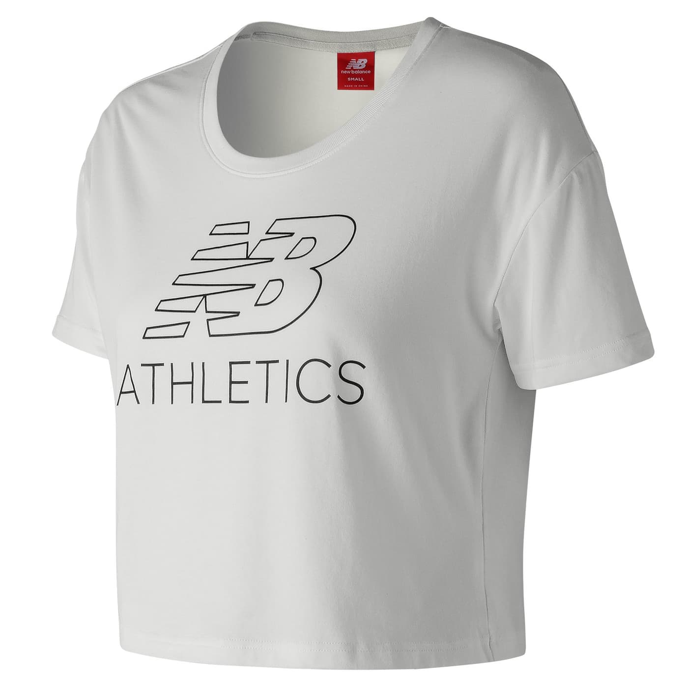 Pour Tee Shirt Femme Athletics Women T Balance New Cropped PkwO80n