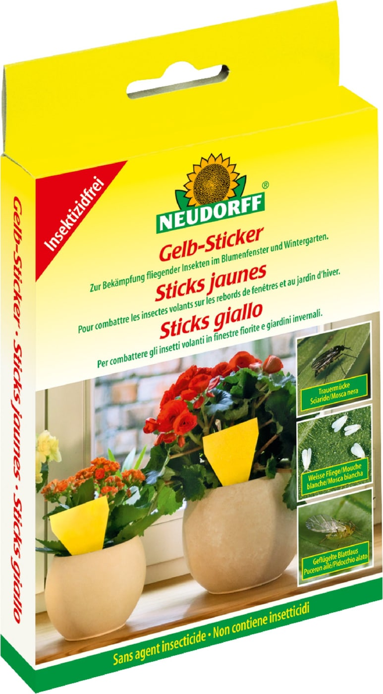 Neudorff gelb sticker 10 st ck migros for Gelbsticker neudorff