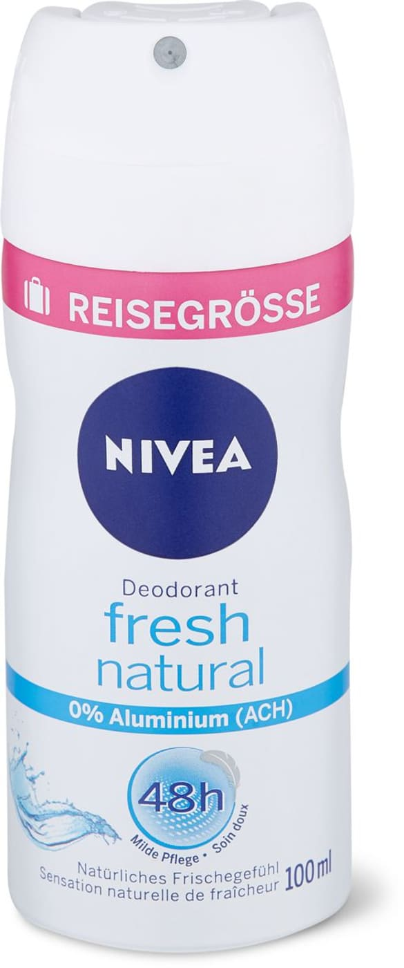 nivea deo spray fresh natural reisegr sse migros. Black Bedroom Furniture Sets. Home Design Ideas