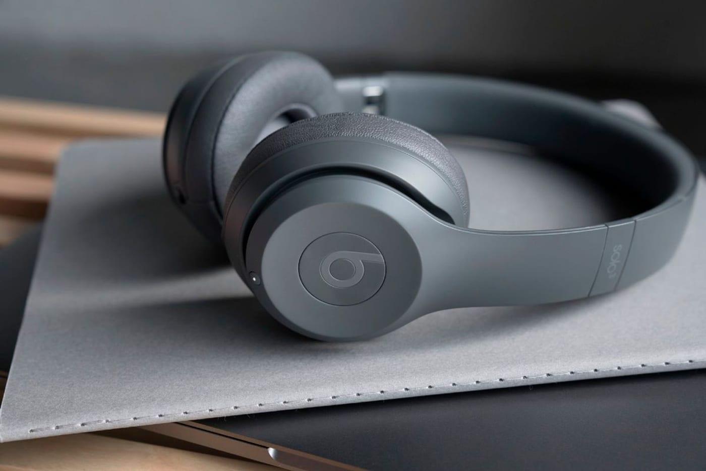 31aa1d088f5b ... Beats By Dr. Dre Beats Solo3 Wireless - Argent Casque On-Ear