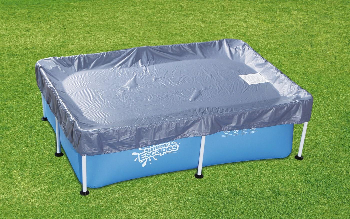 b che pour piscine tubulaire rectangulaire migros. Black Bedroom Furniture Sets. Home Design Ideas
