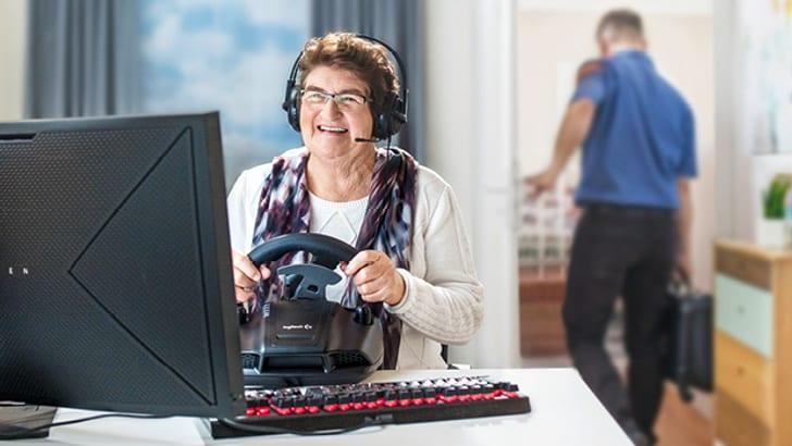 Mit dem IT-Home Service bleibt mehr Zeit für das Game Vergnügen