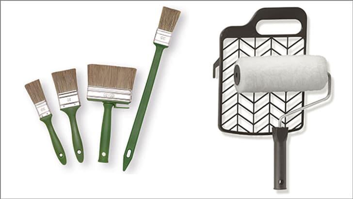 Brosses et rouleaux à peinture
