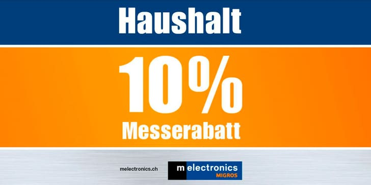 10% Messerabat Haushalt melectronics