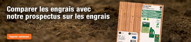Comparer les engrais avec notre prospectus sur les engrais