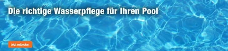 Die richtige Wasserpflege für Ihren Pool