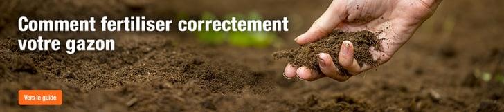 Comment fertiliser correctement votre gazon