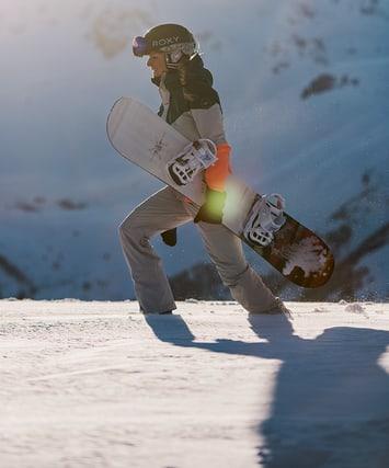 Snowboards et chaussures de snowboard