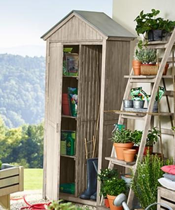 Produktfinder Gartenaufbewahrung