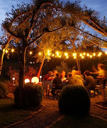 Blog: Sommernacht mit festlichem Lichterzauber