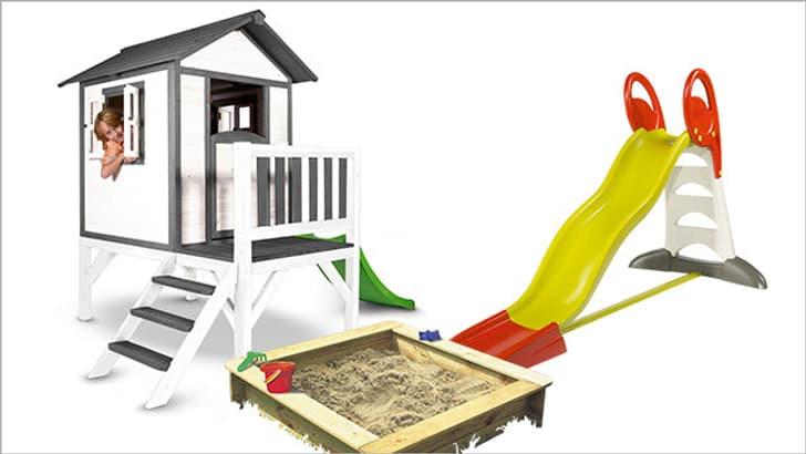 Jeux du jardin pour enfants