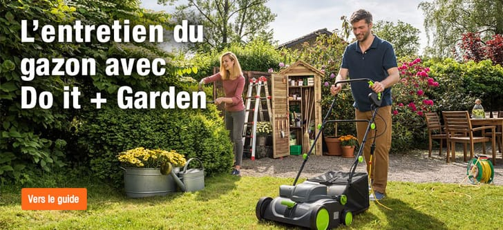 L'entretien du gazon avec Do it + Garden