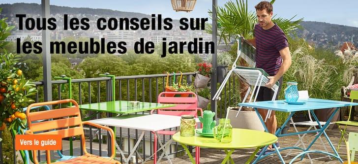 Conseils sur les meubles de jardin