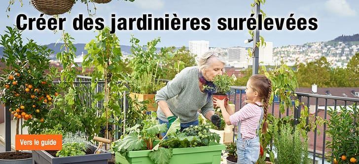 Créer des jardinières surélevées