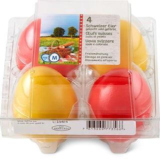 Uova di picnic CH all'aperto 4 x 53g+