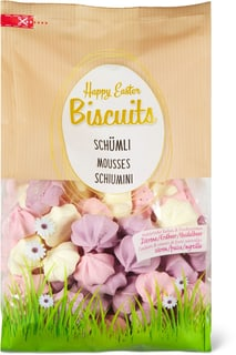 Happy Easter Biscuits Mousses