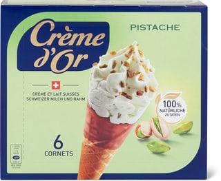 Crème d'or Cornet Pistache