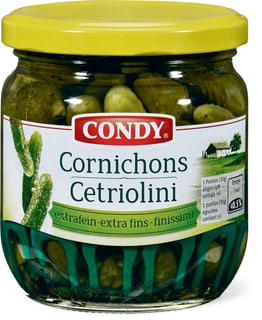 Condy Cornichons extrafein