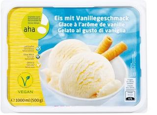 Aha! glace à l'arôme de vanille