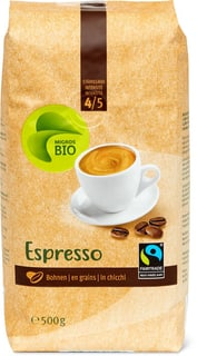 Bio Max Havelaar Espresso grains