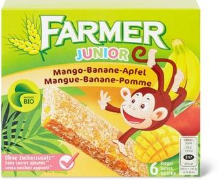 Bio Farmer Junior Mango-Banane-Apfel