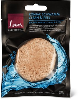 I am Professional Konjac Schwamm Peel