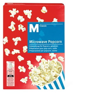 M-Classic microwave Popcorn gesalzen
