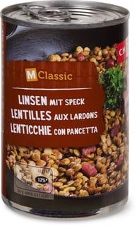 M-Classic Linsen mit Speck