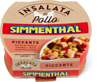 Simmenthal salade Poulet haricots
