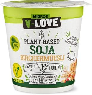Bio V-Love Vegurt Soja Birchermüesli