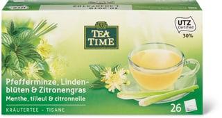 Tea Time Pfefferminz Lindenbl. Citronelle