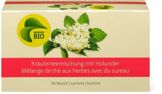 Bio Kräutermischung aus Holunderblüten