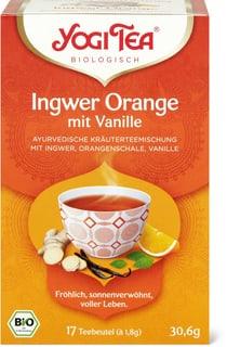 Bio Yogi Tee Ingwer Orange
