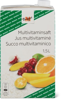M-Budget Multivitaminsaft