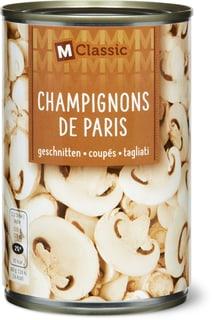 M-Classic Champignon de Paris coupés