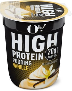 Oh! High Protein Vanille Pudding