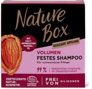 Nature Box Amande Shampooing solide