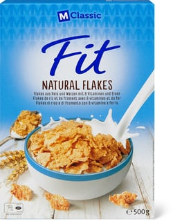 M-Classic Fit Flakes Nature