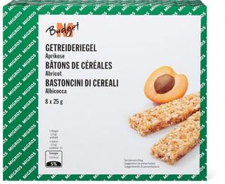 M-Budget Getreideriegel Aprikose