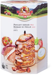 Optigal kebab de poulet mini