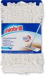 Miobrill Ersatzmop Baumwolle  trocken/feucht
