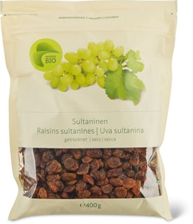Bio Raisins sultanines