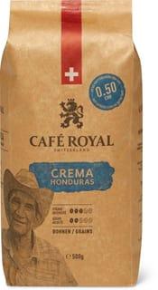 Café Royal Crema Honduras in Bohnen
